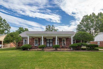 Memphis Single Family Home Contingent: 5692 Redding