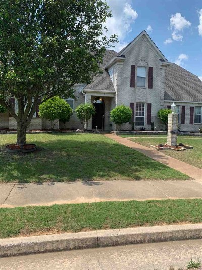 Memphis Single Family Home For Sale: 5081 Grand Pines