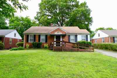 Memphis Single Family Home For Sale: 4266 Leatherwood