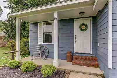 Tipton County Single Family Home For Sale: 117 Dessie Re