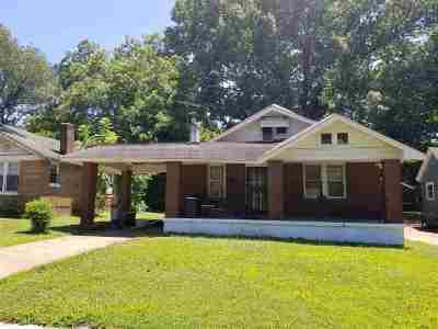 Memphis Single Family Home For Sale: 3229 Douglass
