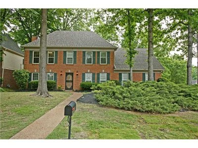 Memphis Single Family Home For Sale: 338 Summerfield