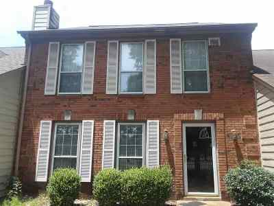 Memphis TN Condo/Townhouse For Sale: $109,900