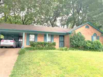 Memphis TN Single Family Home For Sale: $123,900