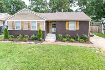 Shelby County Single Family Home Contingent: 4920 Marianne