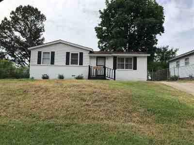Memphis Single Family Home For Sale: 719 W Raines