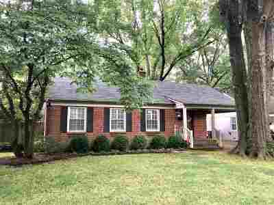 Memphis Single Family Home For Sale: 3703 Northwood