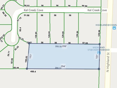 Memphis Residential Lots & Land For Sale: 391 N Highland