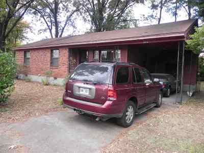 Memphis Single Family Home For Sale: 1724 Berwind