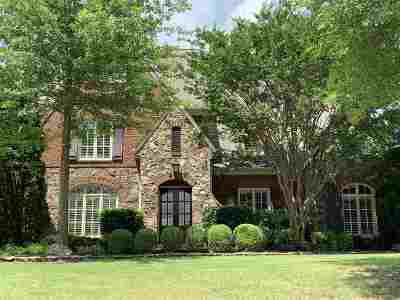 Memphis Single Family Home Contingent: 3220 Wedge Hill
