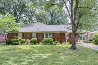 Shelby County Single Family Home Contingent: 5477 Murff