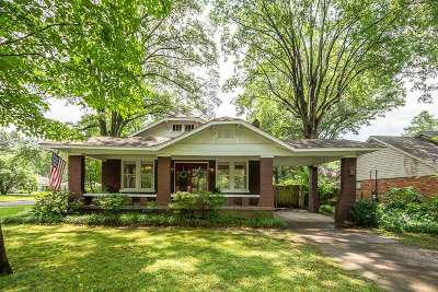 Shelby County Single Family Home Contingent: 4703 Princeton