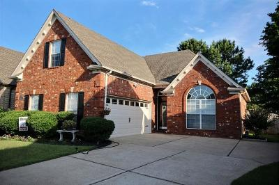 Collierville Single Family Home Contingent: 10477 Ashboro