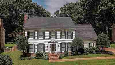 Collierville Single Family Home Contingent: 545 King Oaks