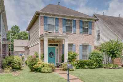 Collierville Single Family Home Contingent: 1241 Oak Creek
