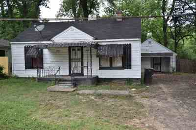 Memphis Single Family Home For Sale: 1880 Whitney