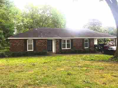 Memphis TN Single Family Home For Sale: $111,500