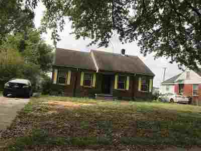 Memphis Single Family Home For Sale: 2493 Browning