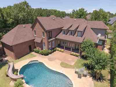 Collierville Single Family Home For Sale: 10025 Forest Oaks