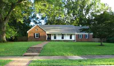 Millington Single Family Home Contingent: 4759 Hallbrook