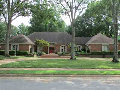 Memphis Single Family Home For Sale: 3173 Plantation
