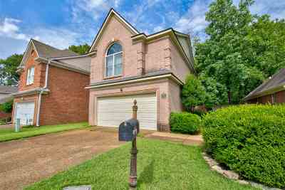 Collierville Single Family Home Contingent: 1172 Clear Creek