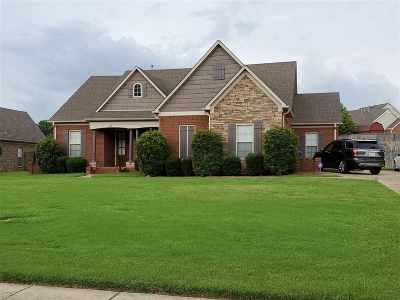 Atoka Single Family Home For Sale: 198 Charleswood