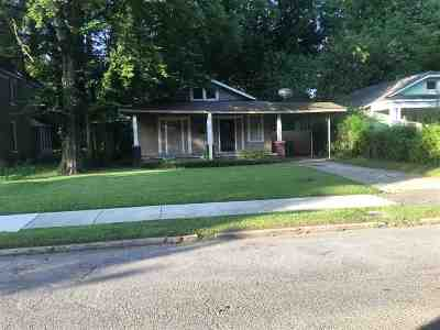 Single Family Home For Sale: 1271 Tutwiler