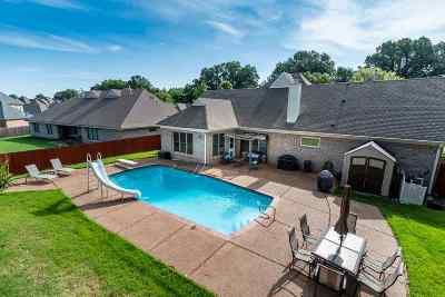 Collierville Single Family Home For Sale: 4875 Fox Springs