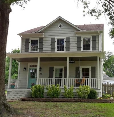 Collierville Single Family Home For Sale: 867 S Collierville-Arlington