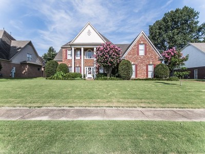 Collierville Single Family Home For Sale: 1549 Courtfield