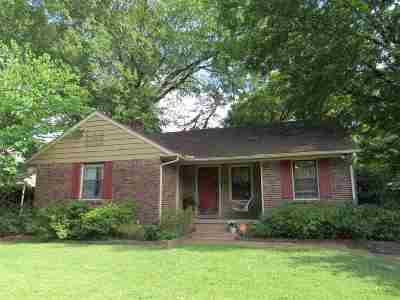 Memphis Single Family Home For Sale: 5025 Princeton