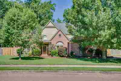 Collierville Single Family Home For Sale: 1195 Macon Ridge