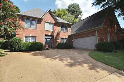 Collierville Single Family Home For Sale: 1656 Von Hall