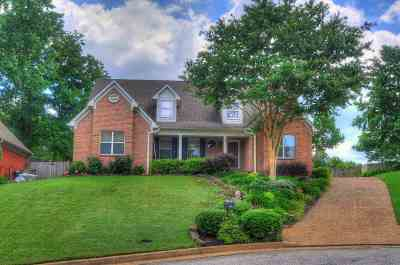 Memphis Single Family Home Contingent: 1450 Lacewing Trace