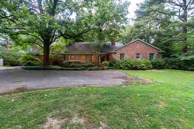 Single Family Home For Sale: 4500 Walnut Grove