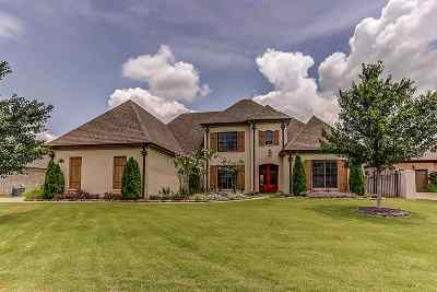 Collierville Single Family Home For Sale: 1736 Amber Grove