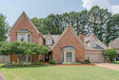 Memphis Single Family Home Contingent: 1176 River Oaks View