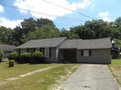 Somerville Single Family Home For Sale: 12380 Main