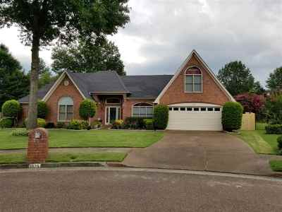 Collierville Single Family Home For Sale: 1026 Cotton Row