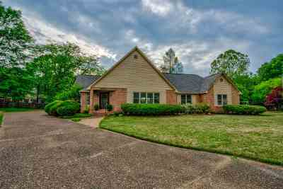 Collierville Single Family Home For Sale: 3451 Bailey Creek