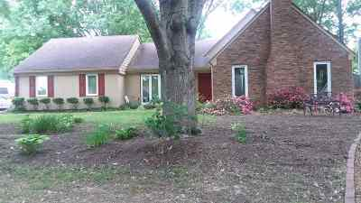 Collierville Single Family Home Contingent: 1075 Martinsburg