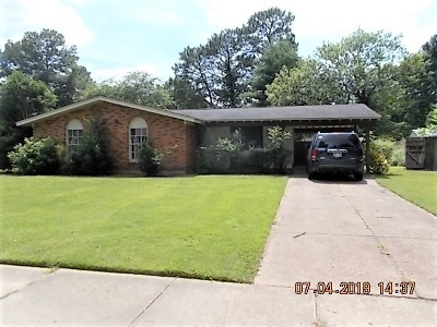 Single Family Home For Sale: 3243 Dothan