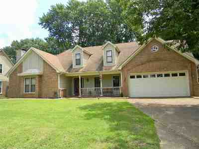 Memphis Single Family Home For Sale: 668 Tealwood