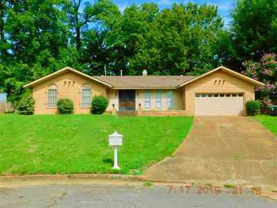 Memphis Single Family Home For Sale: 3457 Gatewood