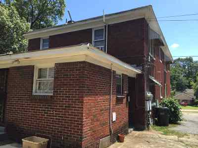 Memphis Multi Family Home For Sale: 1596 Jackson