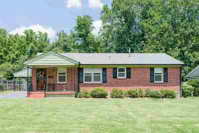 Memphis Single Family Home For Sale: 4244 Hilldale