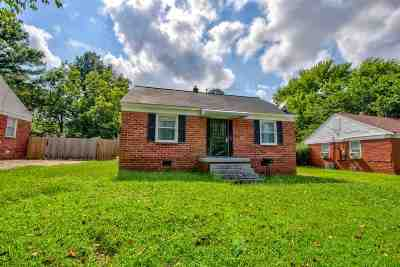 Memphis Single Family Home For Sale: 1203 N Graham
