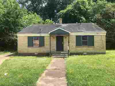 Memphis Single Family Home For Sale: 2483 Dana