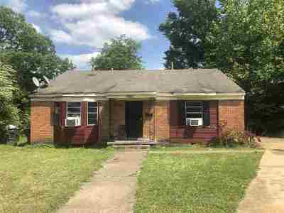 Memphis Single Family Home For Sale: 2485 Dana